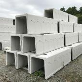 鉄筋コンクリート有孔U形
